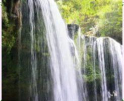 滝のレイアウト